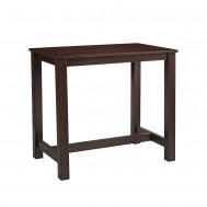 MIST Rectangular Bar Table - ZA.196CT - Dark Walnut
