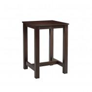 MIST Square Bar Table - ZA.195CT - Dark Walnut