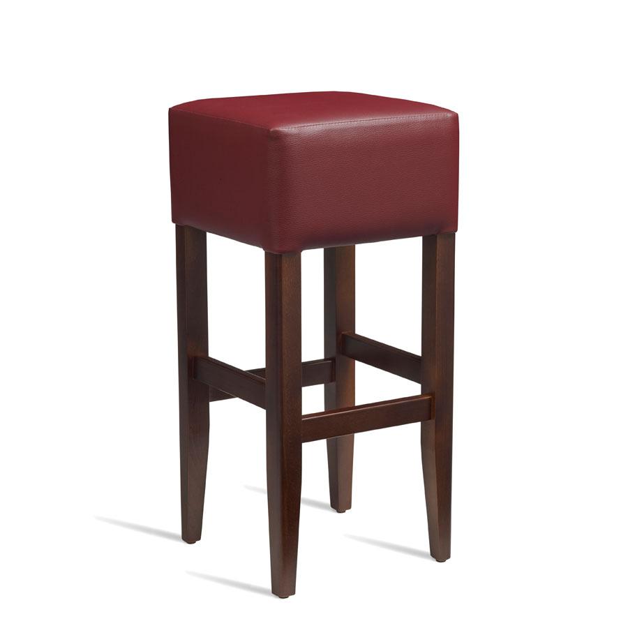 HEAT Bar Stool ZA236ST Dark Walnut Red Zap Trading : HEAT Bar Stool ZA236ST Dark Walnut Red from zaptrading.co.uk size 900 x 900 jpeg 41kB
