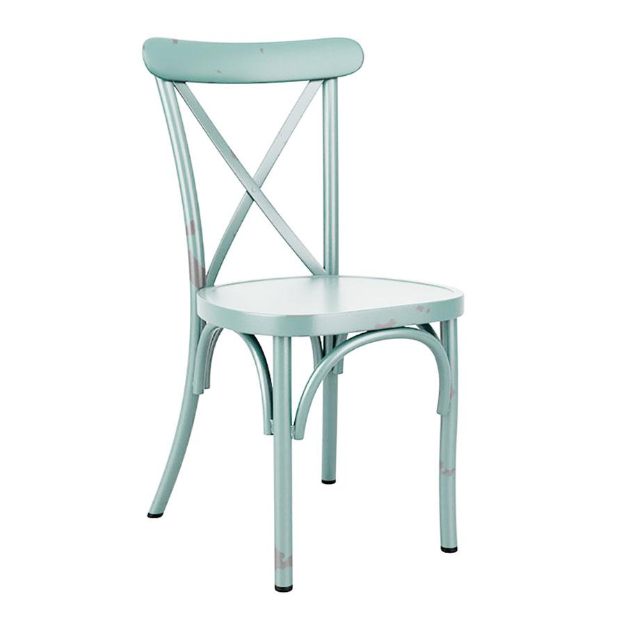 Caf 201 Side Chair Za 435c Light Blue Zap Trading