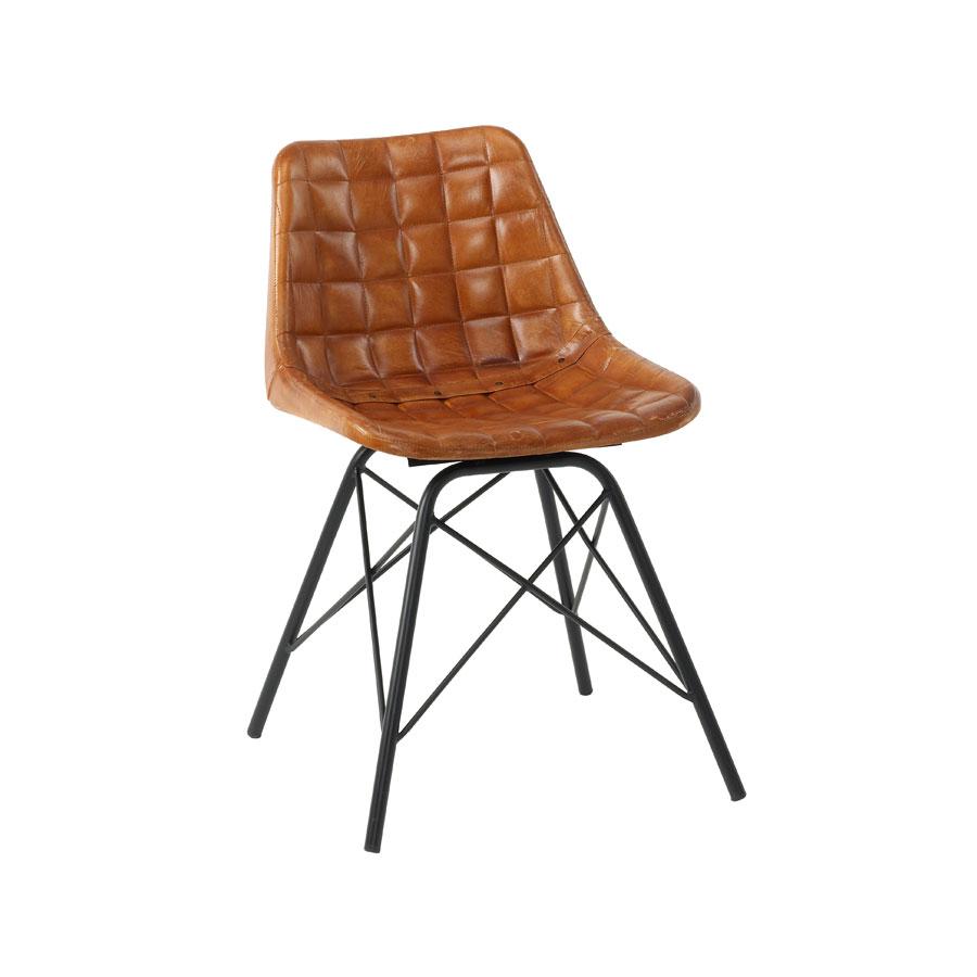 Description. Classic design chair  sc 1 st  Zap Trading & CHUCK Side Chair - ZA.525C - Bruciato - Zap Trading