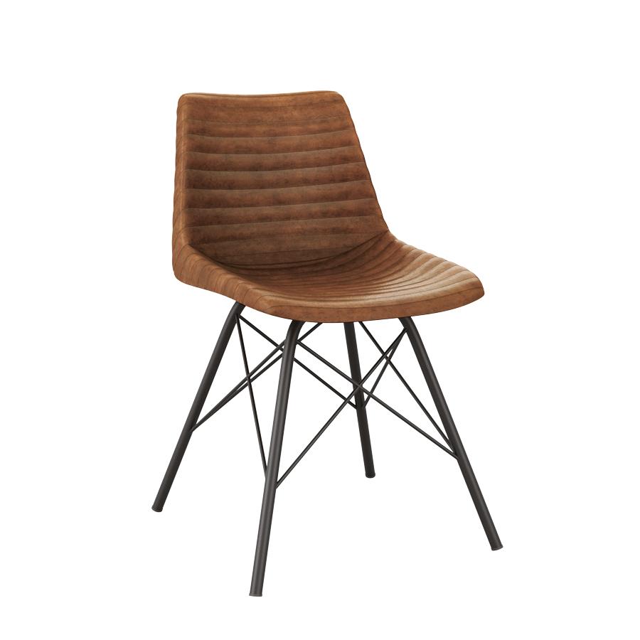 Remy Side Chair Za 524c Vintage Tan Zap Trading