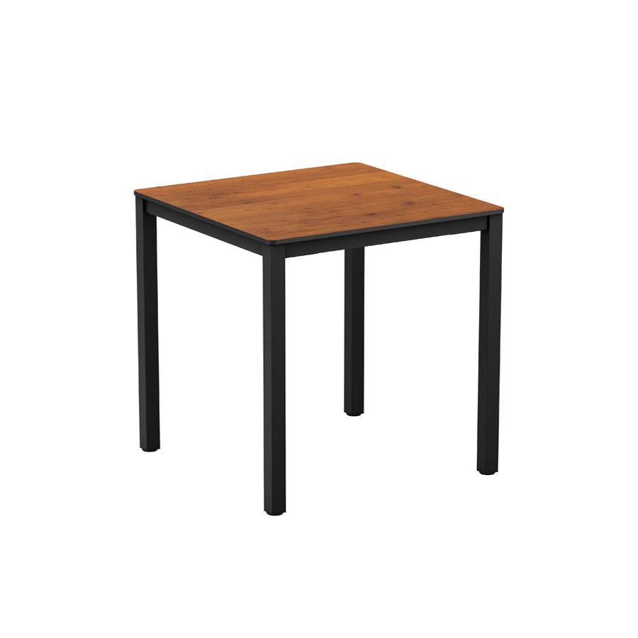 EXTREMA Wood 4 Leg Dining Table Black 79x79cm ZA714CT  : Extrema Wood 4 Leg Dining Table Black 79x79cm ZA714CT from zaptrading.co.uk size 900 x 900 jpeg 27kB