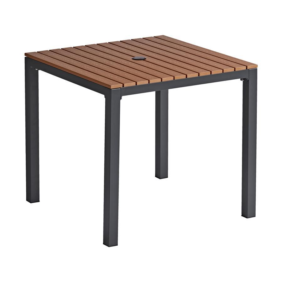 LIKEWOOD Dining Table - 80x80cm Teak Top - ZA.150408 - Zap ...